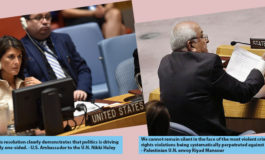 U.N. General Assembly condemns Israel's massacre of Gaza protestors