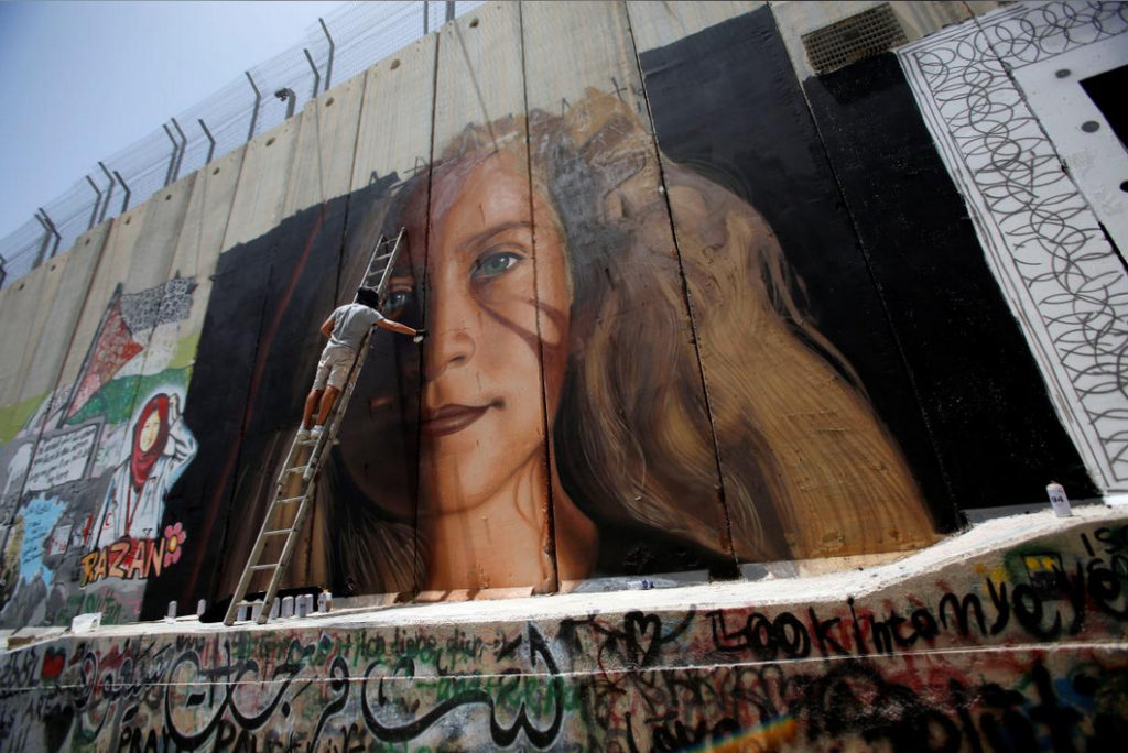 Mural of Ahed Tamimi