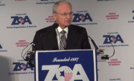 """President of Zionist Organization of America doubles down on his """"filthy Arabs"""" slur"""