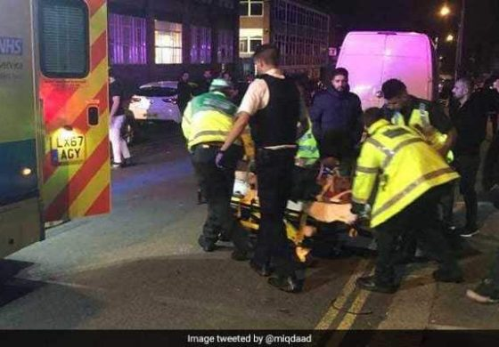 Car plows into crowd outside London Muslim center in possible hate crime
