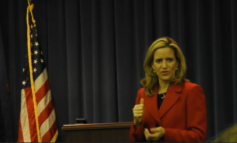 Secretary of State candidate Jocelyn Benson reiterates campaign pledges at Dearborn town hall