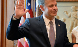 FBI's Wray says most domestic terrorism arrests this year involve White supremacy