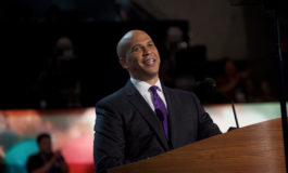 2020 presidential candidate Cory Booker says he went to Senate to defend Israel