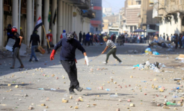 Iraqi forces kill 10 protesters in Baghdad and Basra