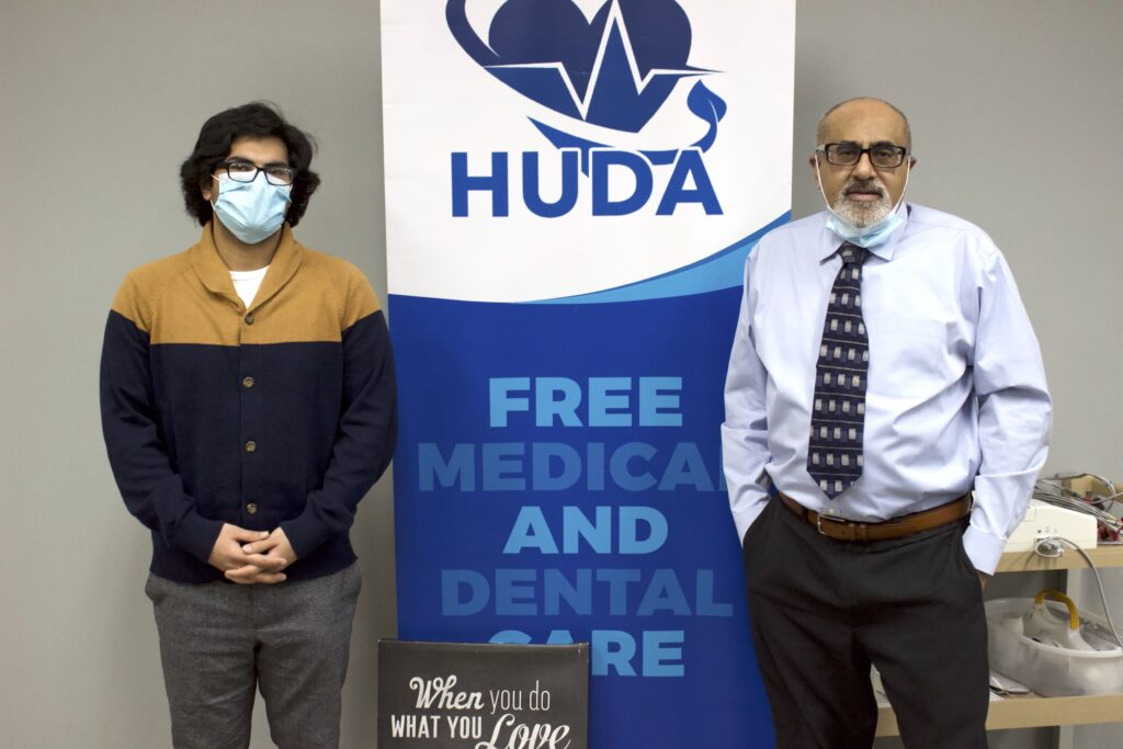 HUDA executive director Mouhammed Hassan and founder Dr. Zahid Sheikh