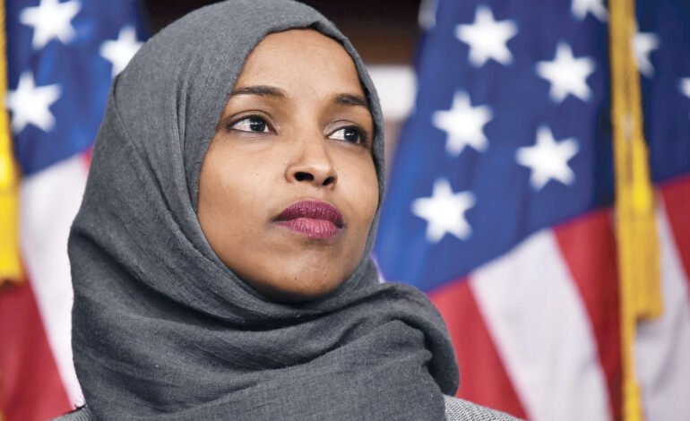 Ilhan Omar's signature is more than disappointing, it's shameful