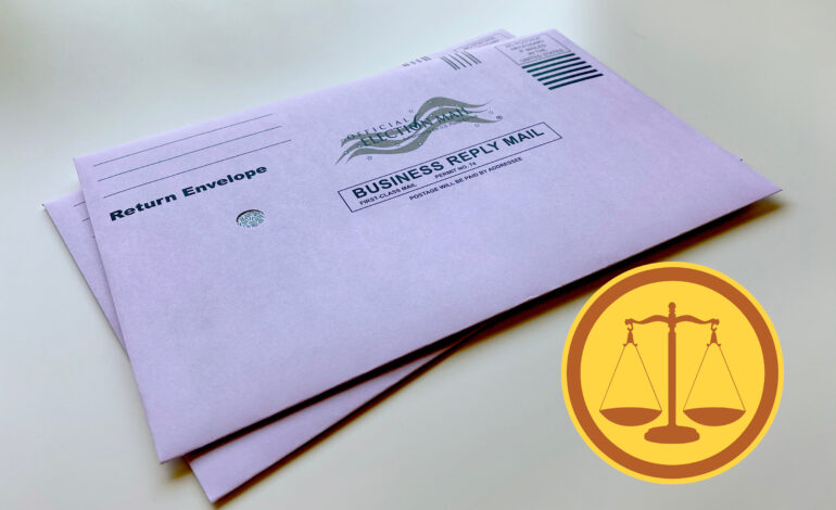 Plymouth Township woman charged with filing false absent voter application