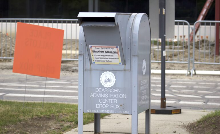 Early voting begins in Michigan as absentee ballots get mailed out on Thursday