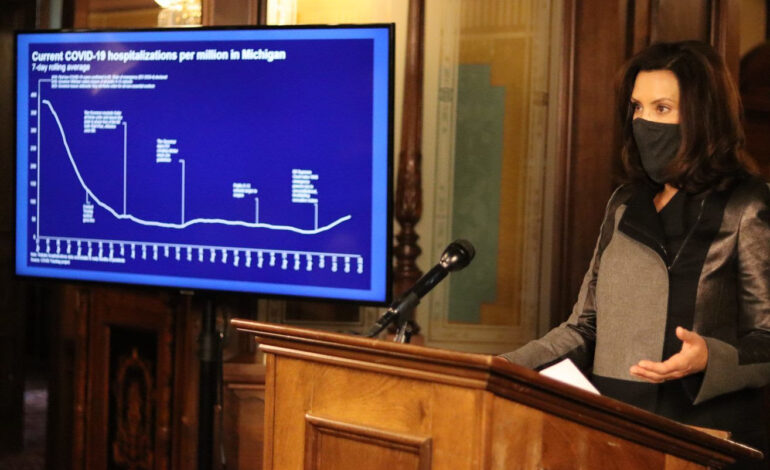 Whitmer signs bills worker, business COVID-related bills, as state sees cases increase