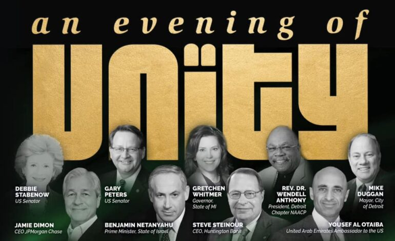 """""""An evening of unity"""" with a fascist criminal is shameful"""