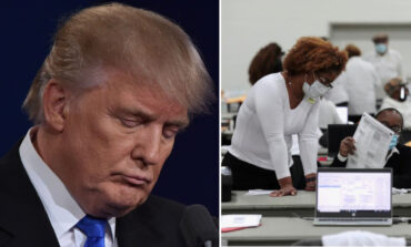 Trump loses legal battle to stop the count in Michigan
