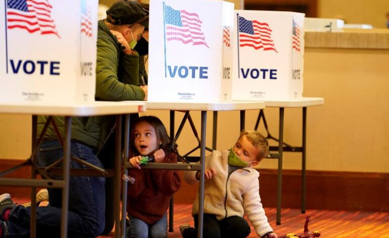 U.S. Election Day unfolds smoothly, so far defying fears of disruption