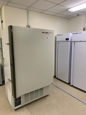 """A """"super freezer"""" at a Henry Ford Health Systems facility. Photo courtesy: Henry Ford Health Systems"""