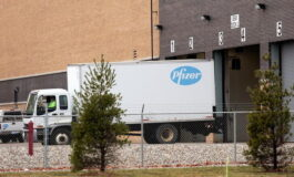First deliveries of COVID vaccine depart Michigan plant