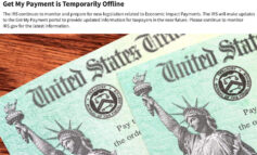 IRS payment tracker down, as $600 payments arrive
