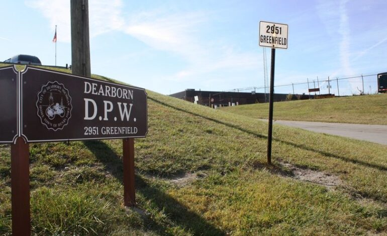Dearborn DPW Yard opens for household bulk materials