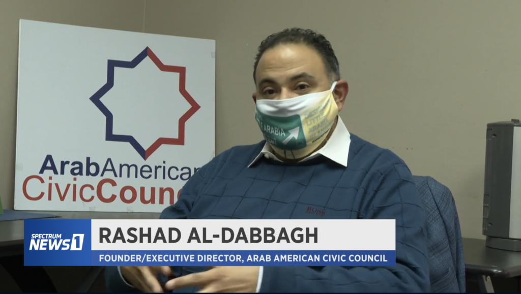 Rashad Al-Dabbagh is the founder of the Arab American Civic Council, based in Anaheim., California.