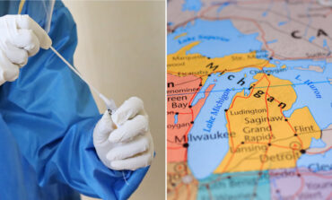 Michigan has the second highest number of COVID variant cases in the U.S.