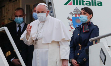 Pope Francis departs Rome for risky, historic Iraq tour