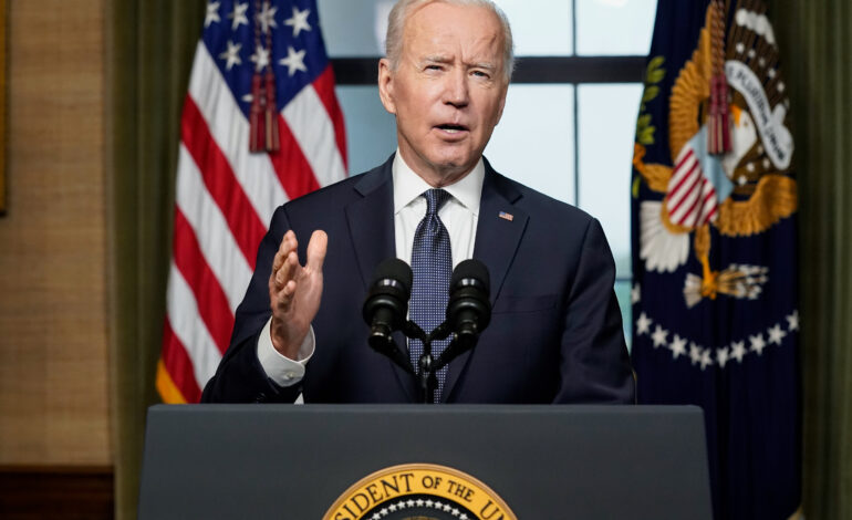 Biden announces plan to end America's 20 year military presence in Afghanistan
