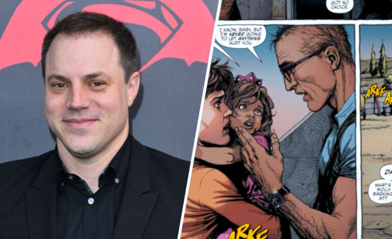 In Geiger, Geoff Johns pens another Arab character into the comics world