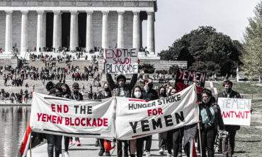 Activists stage hunger strike, rally in D.C. against the war on Yemen