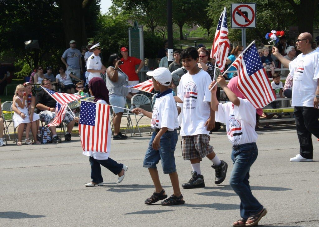 Yemeni Americans participate in Dearborn's 2012 Memorial Day Parade