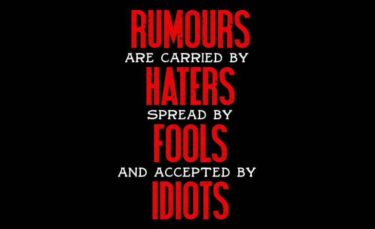 Dearborn, beware of rumors, haters and dividers in this election season
