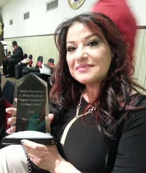 Dearborn woman wins community outreach  award for work with the homeless