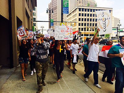Detroiters rally for Iraq, promote unity