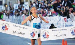 Dearborn resident wins women's race at Detroit Free Press/Talmer Bank Marathon