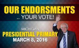 We endorse Bernie Sanders