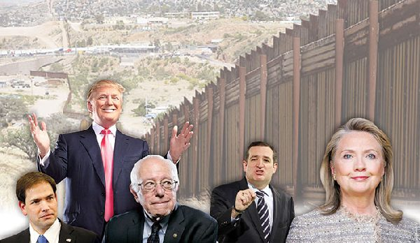 Presidential candidates: The wall of immigration policies