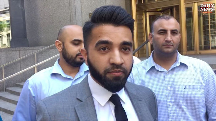 Muslim officer sues NYPD over no-beard policy
