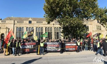 """Muslims condemn oppression in """"March for Justice"""""""