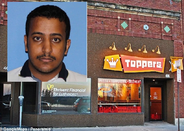 Saudi student beaten to death at Wisconsin pizza shop