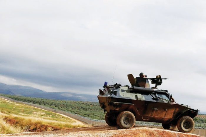 Turkey aims to fully secure borders early next year with Syria campaign