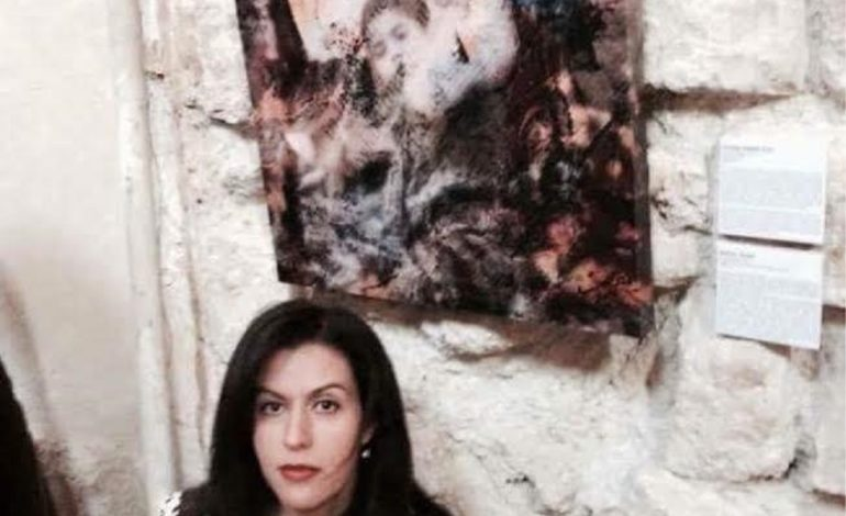 Palestinian artist reflects homeland's struggles