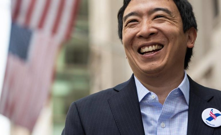 Presidential candidate Andrew Yang dismissive of problematic U.S.-Israeli relationship