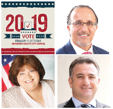Nine candidates competing for three seats in Tuesday's Dearborn Heights City Council Primary