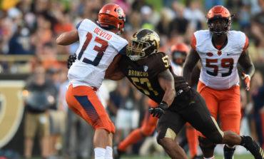Dearborn native, Lebanese American Ali Fayad stars for Western Michigan University's Broncos football team