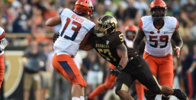 Dearborn native Ali Fayad stars for Western Michigan University's Broncos football team