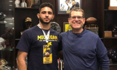 Arab American player receives first University of Michigan football scholarship for the class of 2021