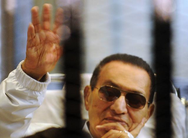 Former Egyptian President Hosni Mubarak to be released