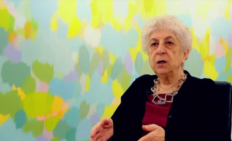 Get your own facts, Palestinian artist Samia Halaby advises