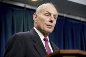 DHS Secretary Kelly