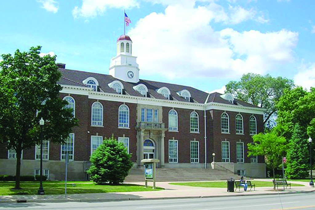 The old Dearborn City Hall