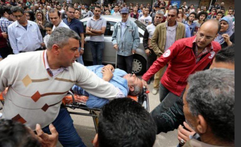 Bombing at Egyptian churches kill and injure dozens on Palm Sunday