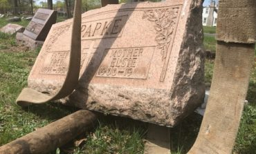 Vandals damage and kick over headstones at Dearborn's Northview Cemetery