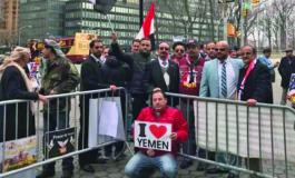Yemeni Americans stage New York protest, urge U.S. to rethink Saudi alliance